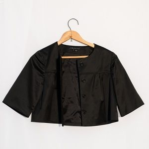 Theory Tilford Cropped Jacket Black P